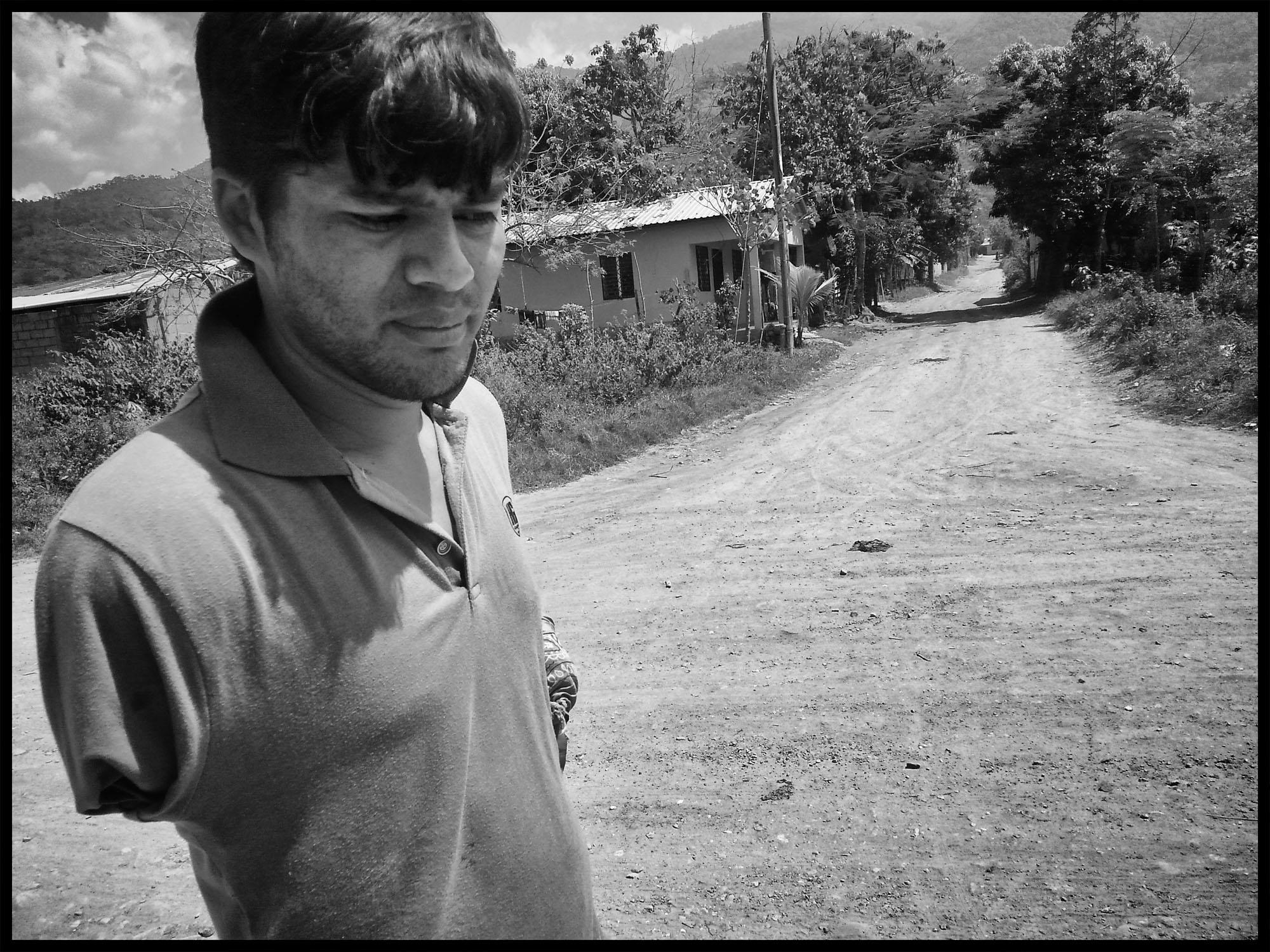 José Luis, en el recorrido por Progreso